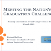 Meeting the Nation's Graduation Challenge