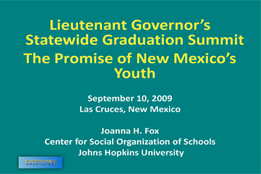 The Promise of New Mexico's Youth