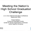 Meeting the Nation's High School Graduation Challenge